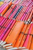 Capa do livro colorida da segunda mão para a venda Imagem de Stock