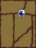 Capa do livro da mágica do vudu Imagens de Stock Royalty Free