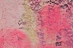 Capa rosada del yeso Foto de archivo