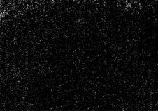 Capa urbana blanco y negro de la textura del vector del Grunge Fondo sucio oscuro del polvo Extracto punteado, grano del vintage libre illustration