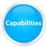 Capabilities premium cyan blue round button Stock Photo