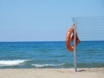 Capaccio - Lifeguard of the Lido royalty free stock photography