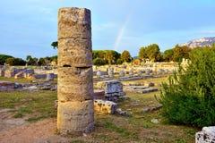 Capaccio paestum意大利 库存图片