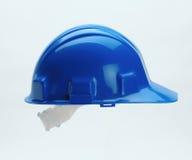 Capacete azul Foto de Stock