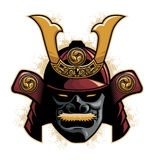 Capacete da armadura do samurai Fotografia de Stock Royalty Free