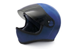 Capacete da motocicleta Imagens de Stock