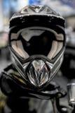 Capacete da motocicleta imagens de stock royalty free