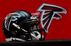 Capacete de Atlanta Falcons fotografia de stock