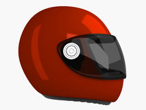 Capacete de Moto | 3D Fotos de Stock Royalty Free