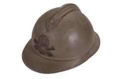 Capacete do aço WW1 Foto de Stock