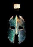 Capacete do estilo de Sparta do grego clássico Fotografia de Stock Royalty Free