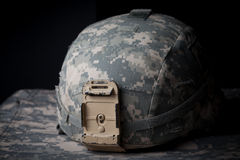 Capacete do exército dos EUA Fotografia de Stock Royalty Free
