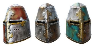 Capacete do ferro Imagens de Stock Royalty Free