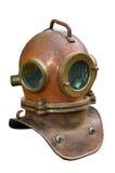 Capacete do mergulhador foto de stock royalty free