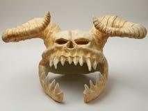 Capacete do monstro do crânio Fotografia de Stock