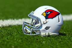 Capacete do NFL dos Arizona Cardinals Foto de Stock Royalty Free