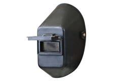 Capacete dos soldadores com o protetor do olho aberto Imagem de Stock Royalty Free
