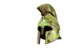 Capacete espartano Imagem de Stock Royalty Free