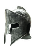 Capacete espartano isolado no fundo branco 1 Fotos de Stock