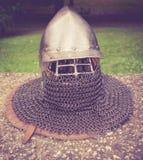 Capacete medieval imagens de stock royalty free