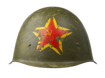 Capacete militar soviético Imagens de Stock