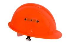 Capacete protetor cor-de-rosa Imagem de Stock