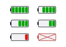 A capacidade da bateria ilustração do vetor