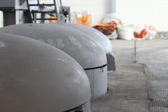Capacidade para o tratamento térmico do metal Imagens de Stock Royalty Free