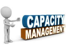 Capaciteitsbeheer stock illustratie