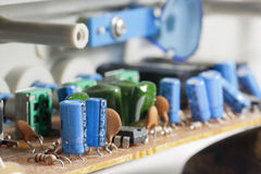 Capacitor Royalty Free Stock Image