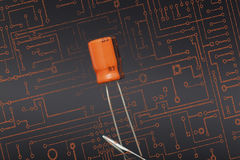 capacitor Obrazy Stock