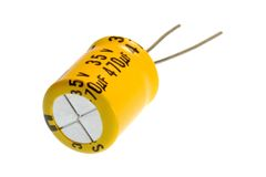 Capacitor Stock Photo