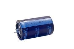 Capacitor eletrolítico Foto de Stock Royalty Free