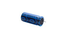 Capacitor eletrolítico Imagens de Stock Royalty Free