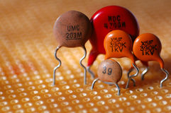 Capacitor Family Stock Photos