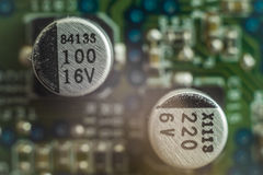 capacitores Fotos de Stock