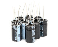 Capacitors royalty free stock image