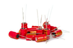 Capacitors Stock Photo