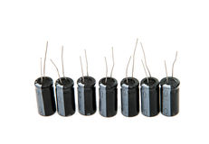 capacitors isolated Stock Images