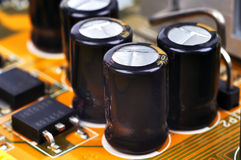 Capacitors Stock Photography