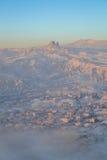 Capadoccia soluppgång Arkivbild