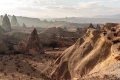 Capadocia风景 免版税图库摄影