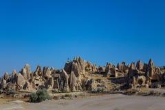 Capadocia caves in the rocks Royalty Free Stock Image