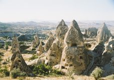 Capadocia Fairy Chimneys Landscape Turkey Royalty Free Stock Image