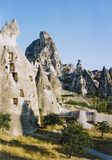 Capadocia fairy chimneys turkey Royalty Free Stock Photo