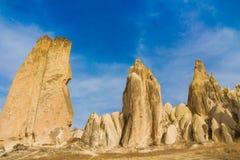 Capadocia rocks landscape Stock Images