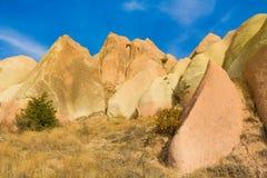 Capadocia rocks landscape Royalty Free Stock Photo