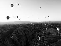 Capadocia van binnenuit hij ballons juli 2015 Royalty-vrije Stock Fotografie