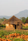 Capanna africana Immagine Stock
