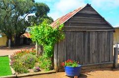 Capanna dei coloni, la cantina di Tyrell, Australia fotografie stock libere da diritti